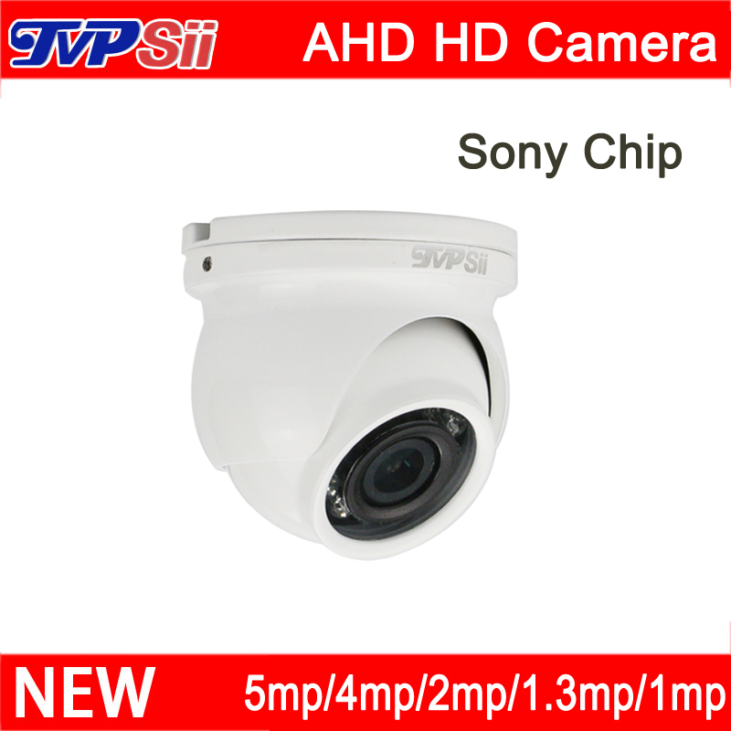 4pcs a Lot 12Pcs Infrared Led 5mp/4mp/3mp/2mp/1.3mp/1mp Waterproof Mini AHD Dome CCTV Security Surveillance Camera FreeShipping mp