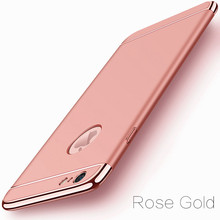 Luxury Gold Hard Case for iPhone 7