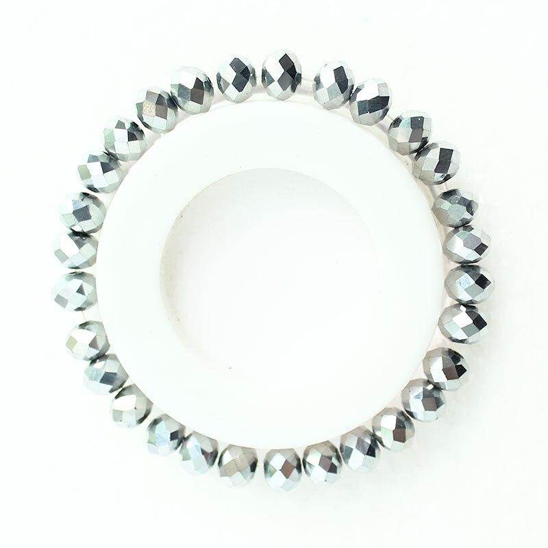 Nouveaux produits 2a408 53152 € 0.74 41% de réduction|ISINYEE Mode 8 MM Verre Cristal Perlé Bracelets  Corde Distance Bracelet Femme Pour Petites Filles Femmes À La Main Wrap  Bijoux ...