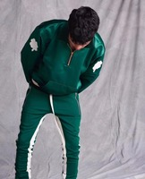 Justin Bieber Fear Of God High Quality 1 1 Classic Sweatshirts Tide Brand FOG 1987 Collection