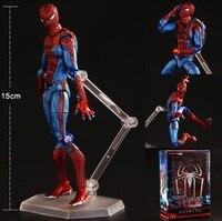 Amazing Spiderman PVC Kids Movable Movie Cartoon Boy Action Figure Model Hand Toy Child Anime Furnishing