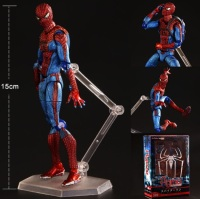 Amazing Spiderman PVC Kids Movable Movie Cartoon Boy Action Figure Model Hand Toy Child Anime Furnishing