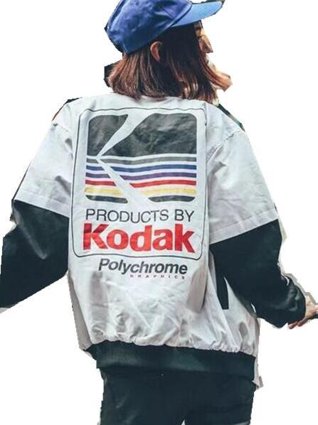 2016 Autumn Korean version of the thin jacket Harajuku street loose bf wind jacket