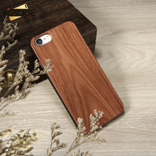 KISSCASE Natural Wood Bamboo Phone Cases For iPhone X XS MAX XR Cover Plain  5 5s SE 6 6s 7 8 Plus Funda