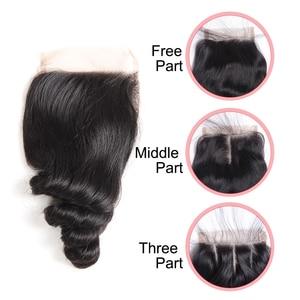 Image 5 - の remy フォルテバンドル閉鎖 10 30 インチの髪レミーブラジル毛織りバンドル 3 /4 波バンドルと閉鎖高速