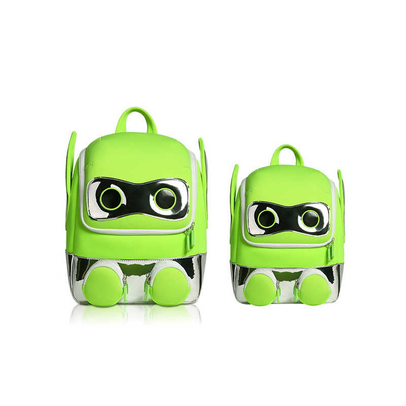 NOHOO 3D backpack Robot Kids bags rugzak mochila bag bolsa escolar  kindergarden school bags for boys