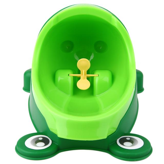 100% NewBaby Treinamento do Toalete Parede-Montado, criança Sapo Suporte Vertical Mictório, Meninos do bebê Potty Higiênico