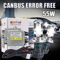 H4 xenon high low lamp kit 55W CANBUS HID bixenon kit H4-3 H13 9004 9007 HI LO XENON KIT 4300k 5000k 6000k 8000k, hid