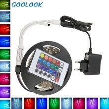 5M SMD2835 RGB LED Strip Light DC12V 54leds/M Tape Diode Neo