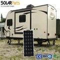 Solarparts 1 ШТ. 100 Вт pvflexible солнечные панели 12 В солнечных батарей/модуль/системы/автомобиля/морской/лодка зарядное устройство LED Солнечная Энергия свет комплект
