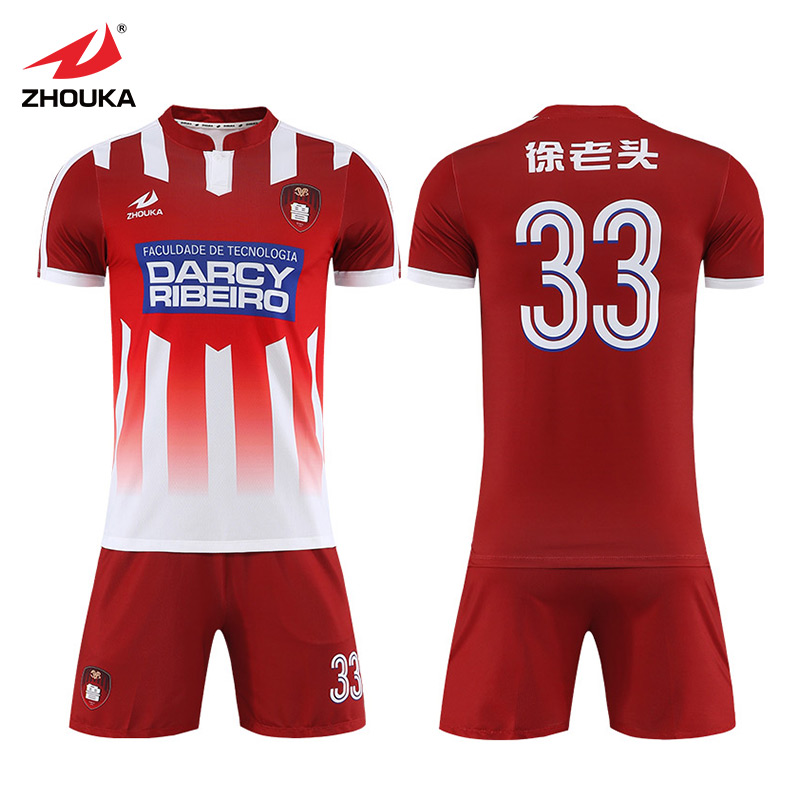 9c29f37cecf Marshal High quality custom sublimation kids football kit wholesale  football uniform sports jersey soccer football shirt