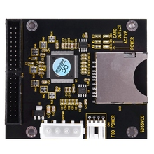 SD SDHC SDXC MMC Card to IDE 40Pin 3.5inch Male Adapter                                                                       #8