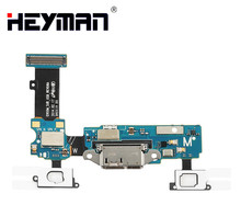 button Flex Cable for Samsung Galaxy S5 SM-G900M G900M (microphone USB charge connector Port Return button) cheap Heyman
