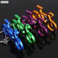 Neue Metall Keychain Männer Frauen Auto Schlüssel Kette Mode Tasche Charme Zubehör schlüssel Ring fahrrad Kreative Schlüssel Halter K1304
