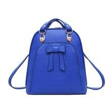2016 Европейский и Американский стиль женщины сумка высокое качество PU кожа дамы рюкзак Старинные моды туризма торгового рюкзаки
