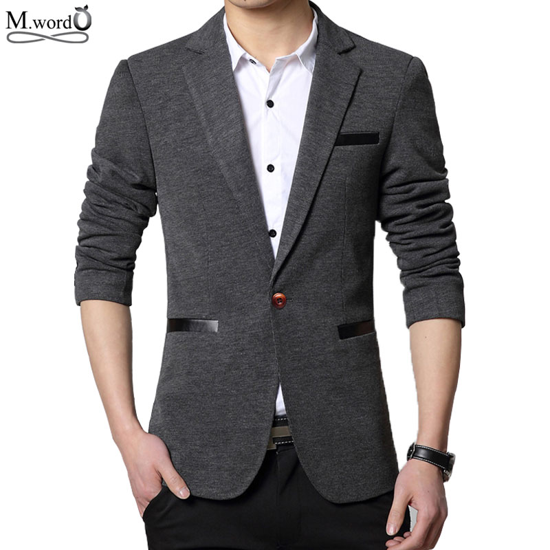 Online Get Cheap Mens Slim Fit Casual Blazer -Aliexpress.com ...
