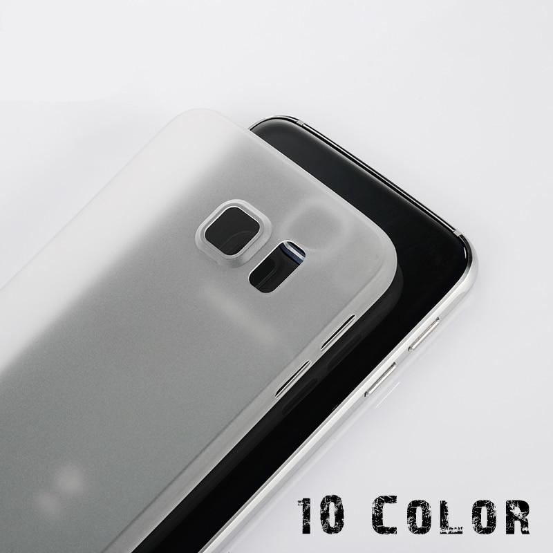 1PC Ultra Thin 0 3MM Cover Case For SAMSUNG galaxy s4 s5 mini s6 s7 edge