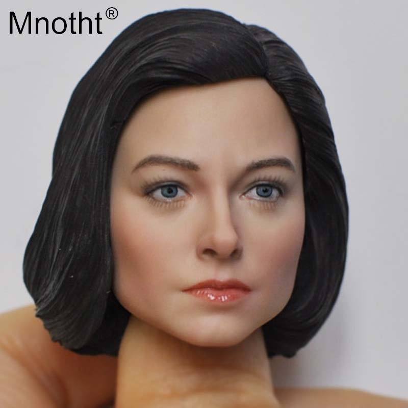 New Product for 12inch Action <font><b>Figure</b></font> Toys 1/6 Scale Head Sculpt KM18-46/KM18-47/KM18-48/KM18-49 <font><b>Resin</b></font> Head Carving Model Mnotht image
