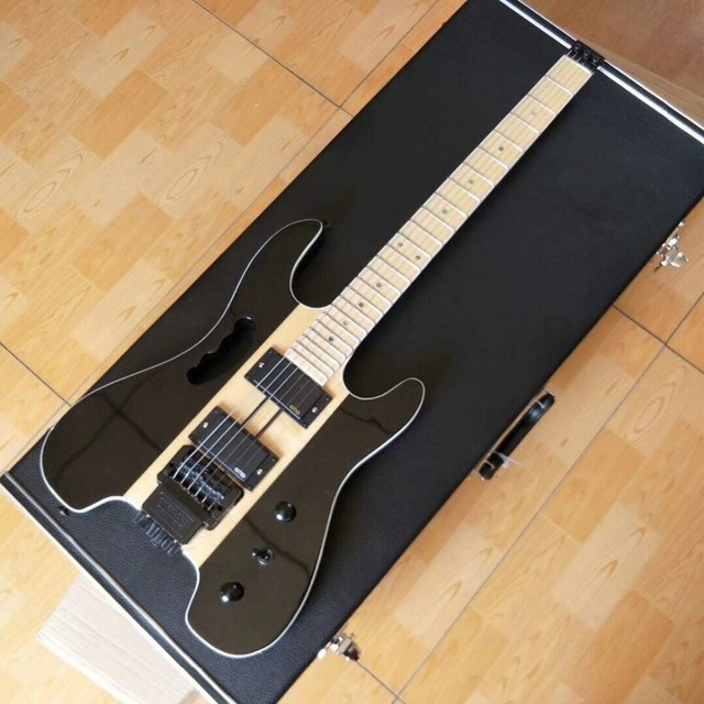Vicers Steinberg headless electric guitar high quality color +case