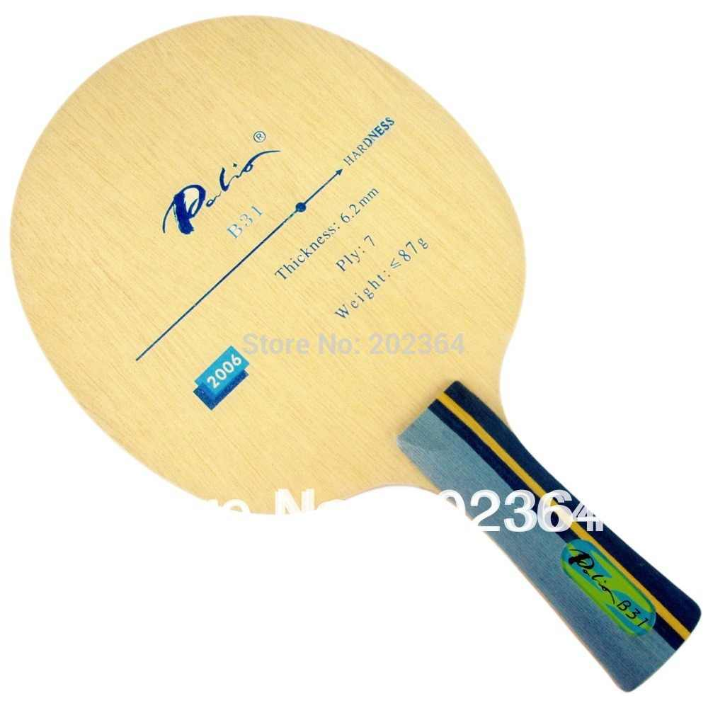 Palio B31 (B 31,B-31) 2006 Allround+ Table Tennis Blade for PingPong Racket