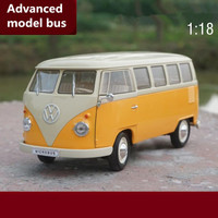 1:18 advanced alloy car toy,bus model Volkswagen T1 van,diecast metal model toy vehicle,collection model free shipping