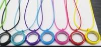 Mix color 30 mét Twist Closure hợp kim kẽm Nổi Sự Mề Đay bộ nhớ Mề Đay Quyến Rũ với màu rope