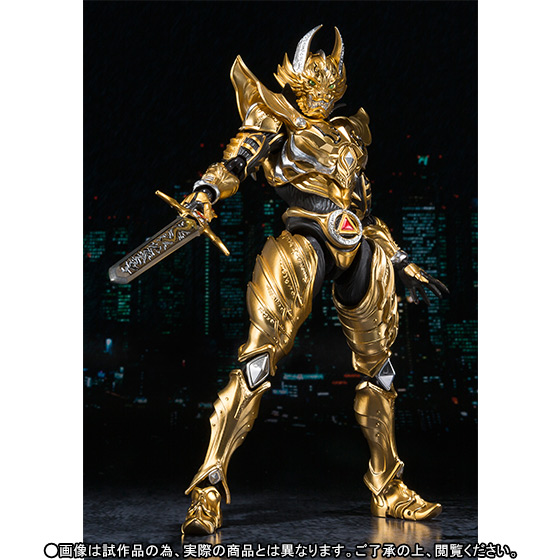 Japan Anime GARO Original BANDAI Tamashii Nations S.H. Figuarts / SHF Exclusive Action Figure - Garo Ryuga KONJIKI Ver. original bandai tamashii nations shf s h figuarts toy action figure body kun pale orange color ver