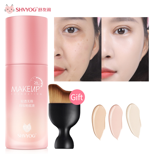 SHVYOG Base BB Cream CC Cosmetics Concealer Professional Covering Foundation Tone Face Makeup Whitening Creams Sunscreen