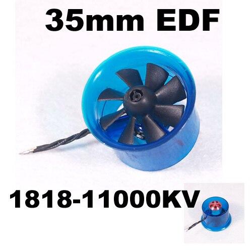 Mystery EDF Plus HL3508 1818 11000KV Brushless Motor 35mm EDF Ducted Fan Power System