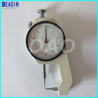 0 10*0.1mm measuring instrument Dental Lab Caliper With Watch Measuring Thickness Metal Watch Showing Thickness Gauge precision