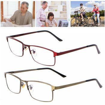 58fccc96ba Moda hombres mujeres Anti luz azul gafas de lectura progresivo de enfoque  múltiple gafas cerca de distancia Marco de aleación + 1,0 ~ + 3,5