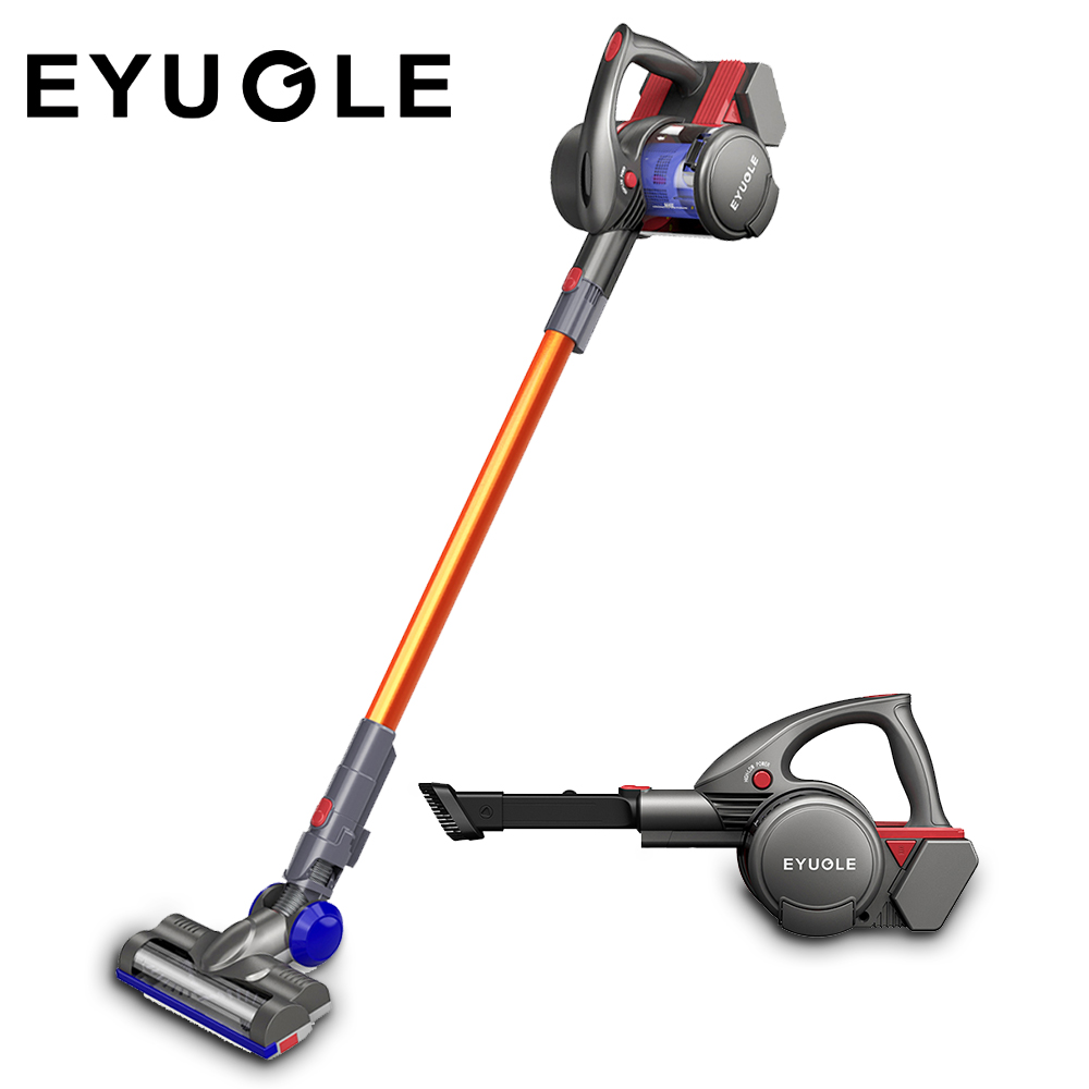 Eyugle 2-In-1 Handheld Vacuum Cleaner Cordless Stick Vacuum Strong Suction HEPA Filter For Pet Fur Hard Floor Carpet Aspirator vacuum cleaner for sofa