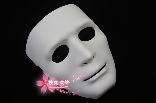 free shipping 10pcs/lot White mask jabbawockeez mask hip-hop mask gloves