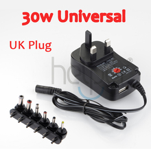 3V four.5V 5V 6V 7.5V 9V 12V Common AC/DC Charger 30w Laptop computer, Pill PC, Digicam, Routers, Switching Energy UK Plug Wholesale