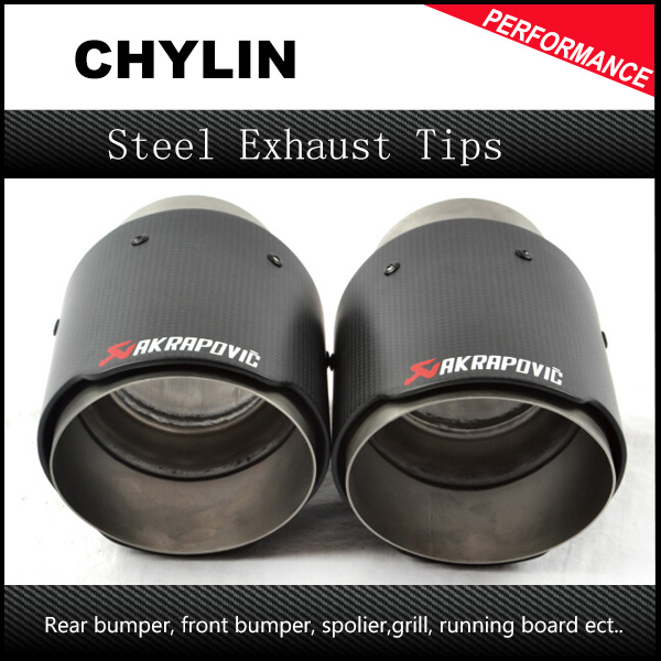 Car-Styling Top Quality 1 Pair: ID 63mm (2.5