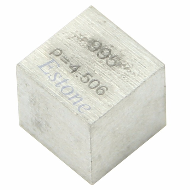 995 high purity titanium ti metal carved element periodic table 995 high purity titanium ti metal carved element periodic table 10mm cube new urtaz Gallery