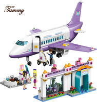Plane Airport Educational Building Blocks Toys 701Pcs For Children Gifts City Girls Friends Compatible With Friends