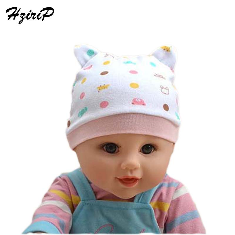 2016 Newborn Photography Props Baby Hat Cotton Modeling Baby Cartoon Smile Binaural Hats Girl Boy Caps Fit 0-3 Months Baby Cap