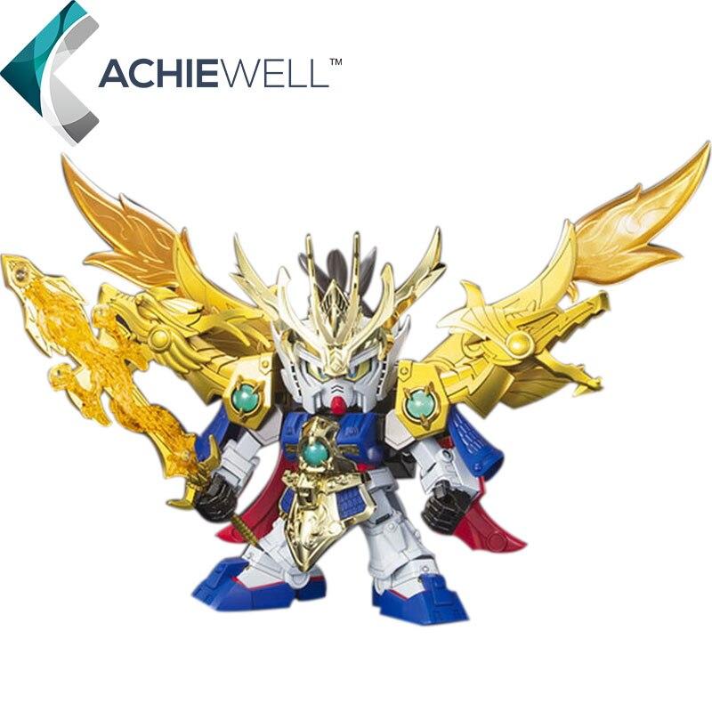 Brand KC <font><b>Mini</b></font> SD Dillon Loaded Liu Bei <font><b>Gundam</b></font> <font><b>Action</b></font> <font><b>Figure</b></font> BB Warrior Series Model Fan Collection Children Gift <font><b>Toys</b></font> For Adult