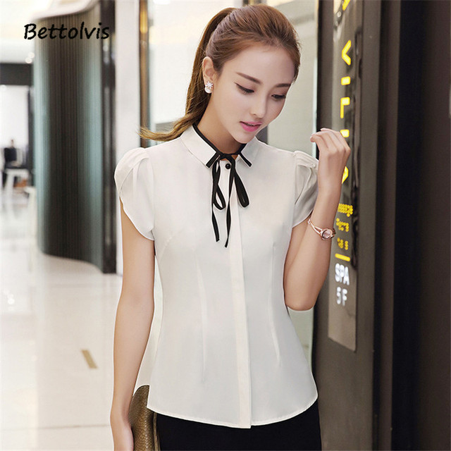 White Collar Shirts For Women