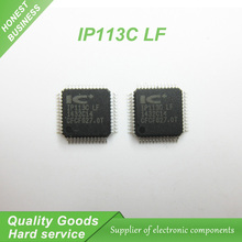 10 ШТ. бесплатная доставка IP113C IP113C LF IP113C-LF сетевой адаптер волоконно-оптический трансивер чип QFP-48 100% новый оригинальный