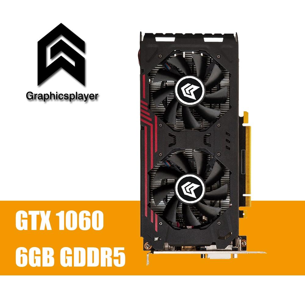 все цены на Graphics Card GTX1060 6GB 192BIT GDDR5 NVIDIA GeForce PC Gaming Video card онлайн