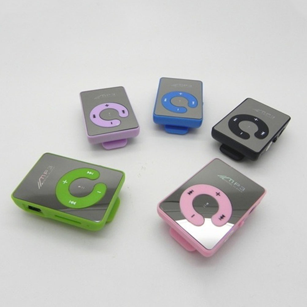 Mp3-Player-Mirror Walkman Digital Waterproof Mini Portable Tf-Card USB2.0