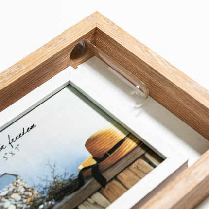 "Nordic Ins Photo Frame Set 7 Inch"" Creative Double-Sided Hydroponic Plant Frame Desktop Decoration Photo Bedroom Home Decoration"