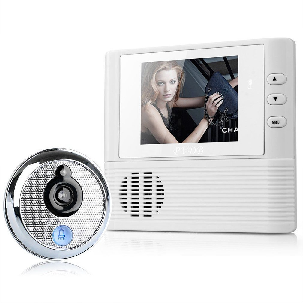 2.8 LCD Digital Peephole Viewer Door Eye Doorbell Video Color IR Camera 806 T0.2 4 3 inch lcd digital doorbell 160 degree peephole viewer door eye doorbell color ir camera automatic video recording