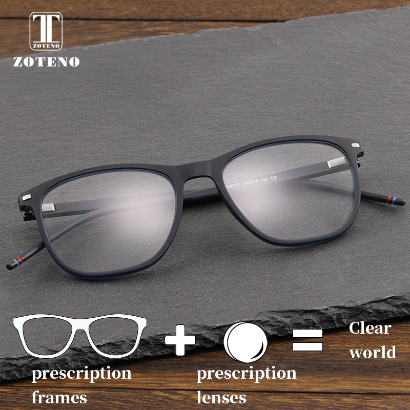 TR90 Prescription Glasses Men Rivet Photochromic Progressive Multifocal Anti Blue Ray Clear Optical Eyeglasses #88030