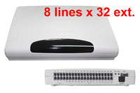 CP832 Office Telephone PBX SWITCH With 8 Lines X 32Extensions Free Shipping