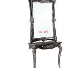 Креативный салон красоты, зеркальный стенд, одиночное и двойное напольное зеркало, tieyi Парикмахерское зеркало