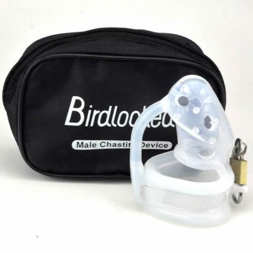 2015 Nuevo mini silicona CB6000S castidad masculina dispositivo CB cinturón de castidad Birdlocked hombres cinturón de castidad de bloqueo anillos juguetes sexuales