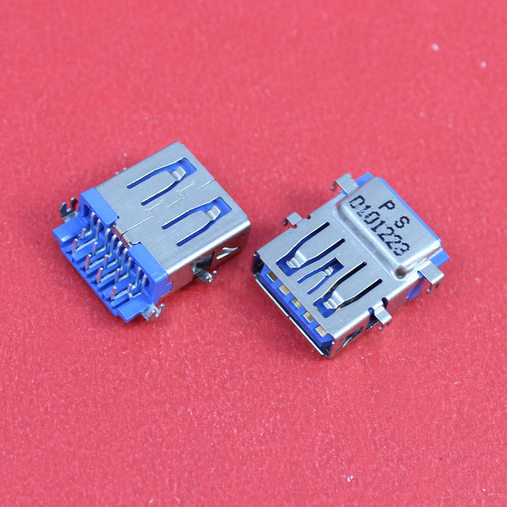 1Piece Female USB Jack Connector Socket for Lenovo Acer Asus laptop motherboard 3.0 USB interface, etc